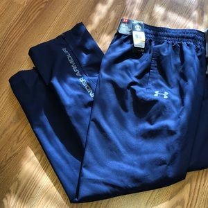 Under Armour Joggers Navy Blue Small